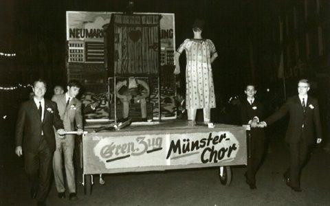 1969 - Altstadtsanierung - das letzte Geschäft auf dem Neumarkt