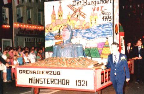 1975 - Der Burgunder vor Neuss