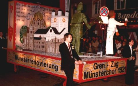 1980 - Münsterrenovierung