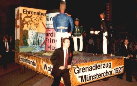 1982 - Ehrenabende - wohin?