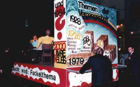 1983 - Suche nach Fackelbauthema