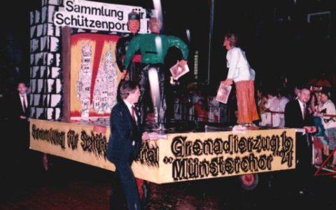1984 - Sammlung für Schützenportal an St. Quirin