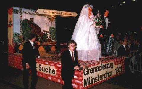 1987 - Ämtersuche