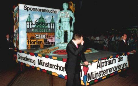1989 - Alptraum Münsterrenovierung