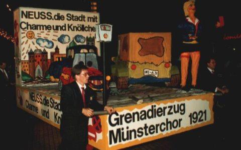 1990 - Neuss, die Stadt mit Charme und Knöllchen