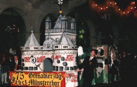 1996 - 75 Jahre Grenadierzug Münsterchor