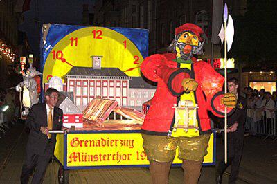 2004 - Neuss bei Nacht