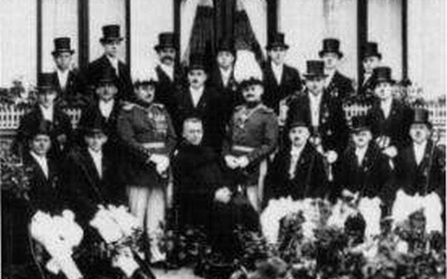 Gruppenbild 1921